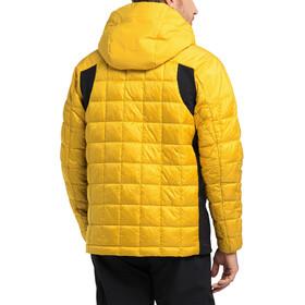 Haglöfs Nordic Mimic Hood Jacket Men pumpkin yellow/true black